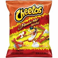 Cheetos Flamin Hot Crunchy Cheese Flavored Snacks 8.5 oz