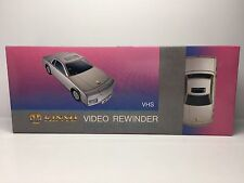 Kinyo Silver Car AW600A VHS Video Cassette Tape Rewinder VCR Auto Soft Eject