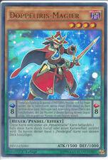 PEVO-DE003 Doppeliris-Magier    Ultra Rare 1.Auflage Neu