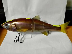 JACKALL DOWZ SWIMMER 220SF RT Ghost Smelt Color 3.6oz 220mm Big Bait From Japan