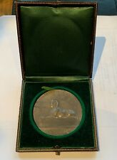 FRANCE - EGYPT COMPANY FRANCAISE AFRIQUE OCCIDENTALE SILVER MEDAL/BOX
