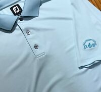 FJ FootJoy Short Sleeve Performance Golf Polo Shirt Men's size L Large