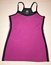 Aerie Fit Athletic Womens Tank Top Purple Black Size Medium Fitness