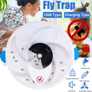 Electric Automatic Flies Catcher Device Fly Trap Insect Bug Killer  t a