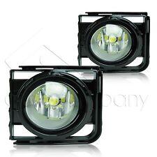 11-15 Scion xB Fog Lights w/Wiring Kit & High Power COB LED Bulbs - Clear