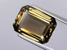 Smoky Quartz 10.35ct 16x12mm Octagon Loose Natural Gemstone VS Nice Big