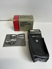 Canon Speedlight 188A for AE1 Series W/ Original box & Pouch & Manual
