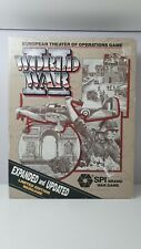 World War 2 - European Theater of Operations -  Board game SPI