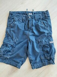 TRUE RELIGION MEN DESIGNER CARGO SHORTS, SIZE 30