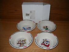Vintage 1995 Kellogg Cereal Bowls New, Tony, Corny, Toucan Sam, Snap Crackle Pop
