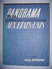 Panorama de la littérature contemporaine aux États-Unis, 1971, BE