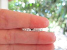 .28 Carat Diamond Half Eternity Ring pt900 codeHE60 sepvergara