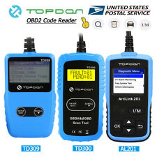 OBD2 OBDII Automotive Car Diagnostic Tool Scanner Fault Code Reader Check Engine