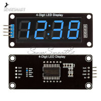 0.56''Inch TM1637 4Bit Digital LED 7 Segment Clock Tube Display For Arduino Blue