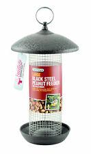 Gardman Extremely Durable Galvanised Steel Black Steel Peanut Feeder