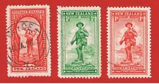 New Zealand #B8-10  VF used   Semi-Postal  Free S/H