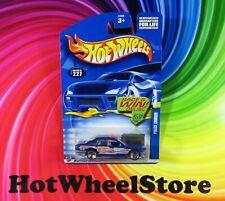 2002  Hot Wheels   Blue  POLICE CRUISER  FIRE CHIEF   Card #227    HW22-061721