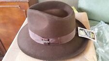 INDIANA JONES PROMOTIONAL HAT IN ORIGINAL BOX BY VILLAGE HATS ACTION MOVIE