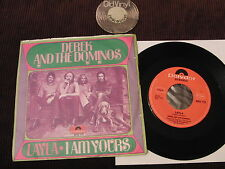 """7"""" DEREK and the dominos Layla I am yours Germany 1970 