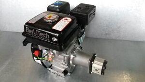 Hydraulikaggregat 6,5PS Benzin Motor 11ltr/min für Holzspalter E0016 Sonderpreis