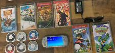 Sony PSP 3001 Lot With Charger & Games