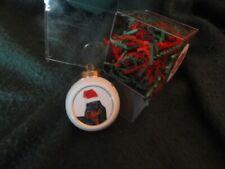 Gordon Setter Christmas Ornament Santa Hat (e)