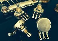 "Bourns 500K SHORT (3/8"") Split Shaft AUDIO Guitar Pots - 4X - Pro Audio Series"