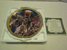 BRADFORD EXCHANGE BASKETBALL PLATE MICHAEL JORDAN UPPER DECK 1991 EASTERN FINALS