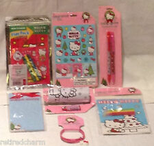 ❤️HELLO KITTY LOT 😺 Christmas 🎄 Stocking Stuffers Party Favors NEW *7 pc  #2❤️