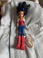 DC SUPER HERO WONDER WOMAN DOLL ACTION FIGURE SUPERHERO GIRLS 12'' With Lasso