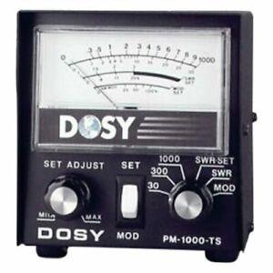 Dosy PM 1000 TS SWR Power Cb Ham Radio Wattmeter Test Center Station FAST SHIP!