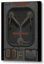 Flux Capacitor Back To The Future Script Mosaic Framed Limited Edition Art w/COA