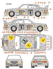 1/24 Mercedes 190E 92' DTM(Zolder)/Macau Decal Rosberg Lohr Ludwig Schneider