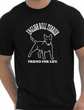 English Bull Terrier Mens T-Shirt Dog Lover Pet Gift Present  Size S-XXL