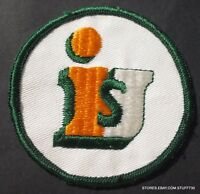 "UNIFORM RENTAL SERVICE IS EMBROIDERED SEW ON ONLY PATCH INTERSTATE 3"" UniFirst"