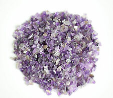 100g Bulk Natural Tumbled Amethyst Small Size Reiki Healing Crystals Chips