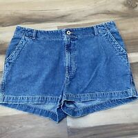 Vintage Guess Women's Size 32 Medium Wash High Waisted Mom Jean Shorts USA made