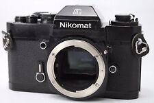 Nikon Nikormat EL 35mm SLR Film Camera Body Only #H009d
