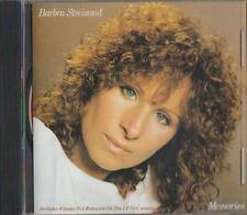 C.D.MUSIC  D995  BARBRA STREISAND  MEMORIES  CD