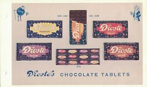 1920-30, ADVERTISING VINTAGE DROSTE'S CHOCOLATE TABLETS