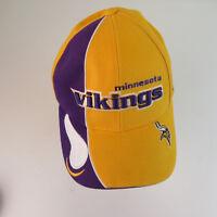 Minnesota Vikings Reebok Gold Strapback Pro Line Hat Cap