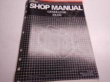 1988 Honda Generator EX350 Shop Manual 350 EX 88