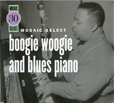 MOSAIC SELECT: BOOGIE WOOGIE & BLUES PIANO BY VARIOUS ARTIST CD BOX SET [NEW]