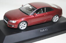 AUDI a5 COUPE ROSSO 1 of 1500 1:43 Schuco NUOVO & OVP 4797