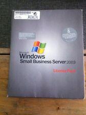 USER CALs für Microsoft Small Business Server 2003 (SBS) - Lizenz für 5 Benutzer