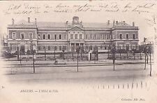 ANGERS 54 l'hôtel de ville timbrée 1903