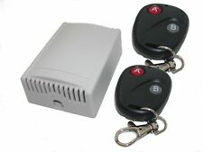 Wireless Remote Control Switch Garage Door Access 2 Fob