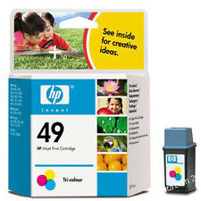 GENUINE HP49 Color 51649A  ink Cartridge for OfficeJet 500 520 570 580 590 635