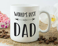World's Best Dad Mug Worlds Best Dad Father's Day Gift Dad Mug Gifts For Dad Dad