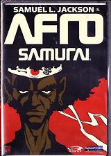 Afro Samurai (DVD, 2007, Widescreen) Brand New